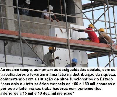 Cabo Verde: RICOS CADA VEZ MAIS RICOS, POBRES CADA VEZ MAIS POBRES - sindicatos