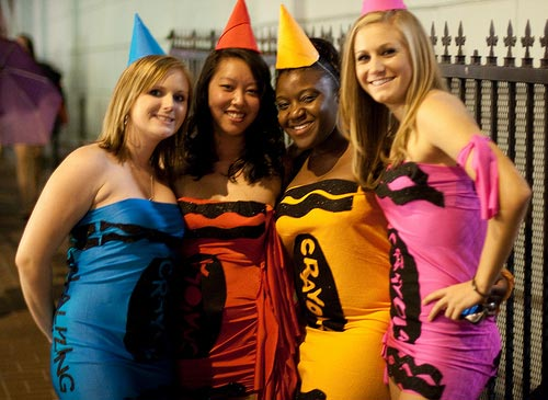 Crayola Crayon Group Halloween Costume by It Girl Vibe