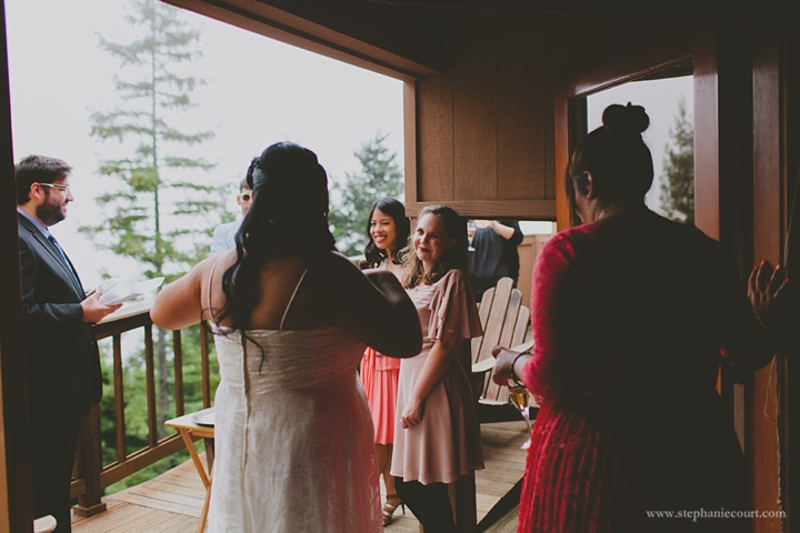 """wedding at Mountain Home Inn"""