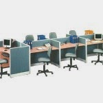 Kantor Partisi 7 Staff Configuration Uno Executive Partition