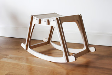 "SketchChair by Diatom Studio ""Rocking Stool"""