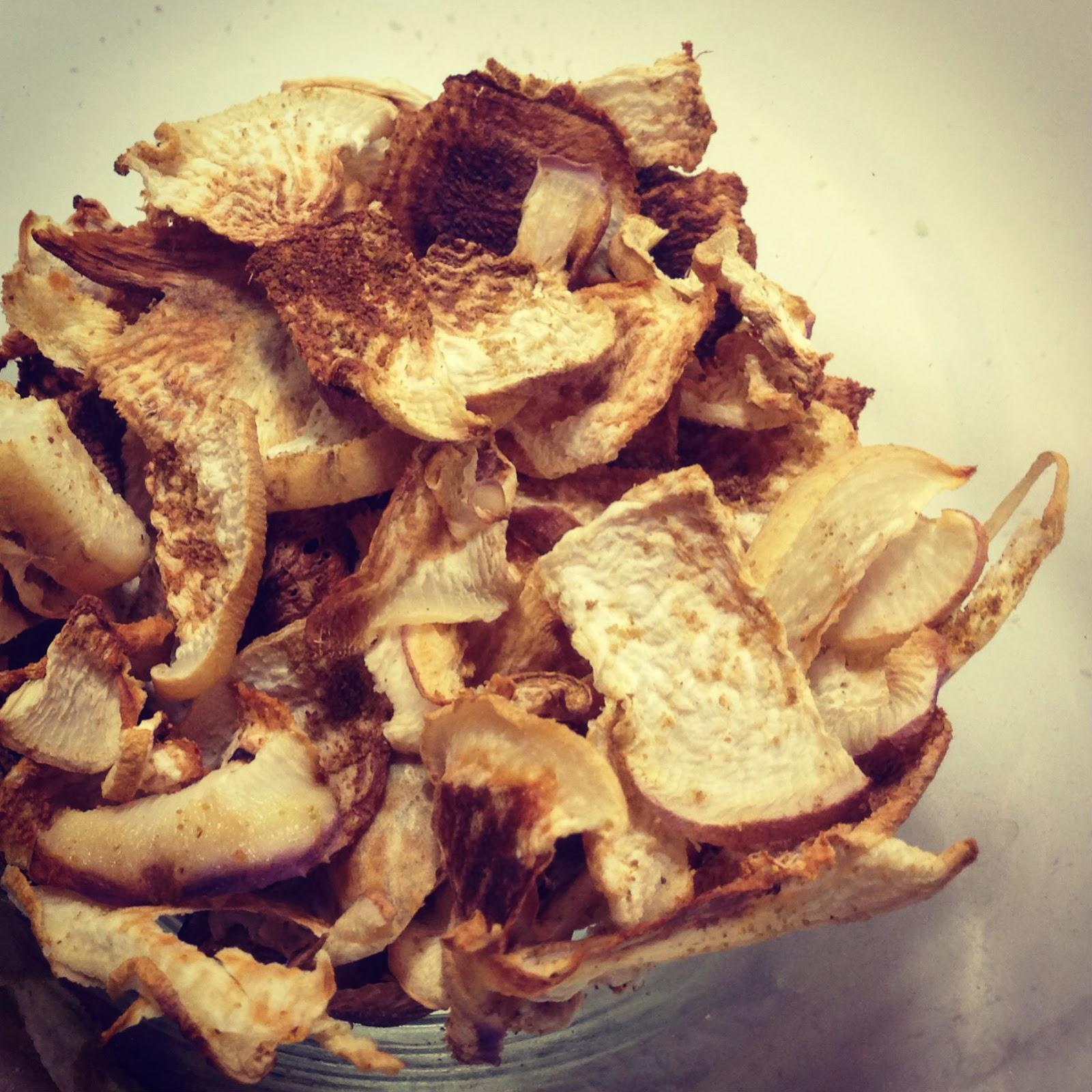 Cumin Parsnip Chips