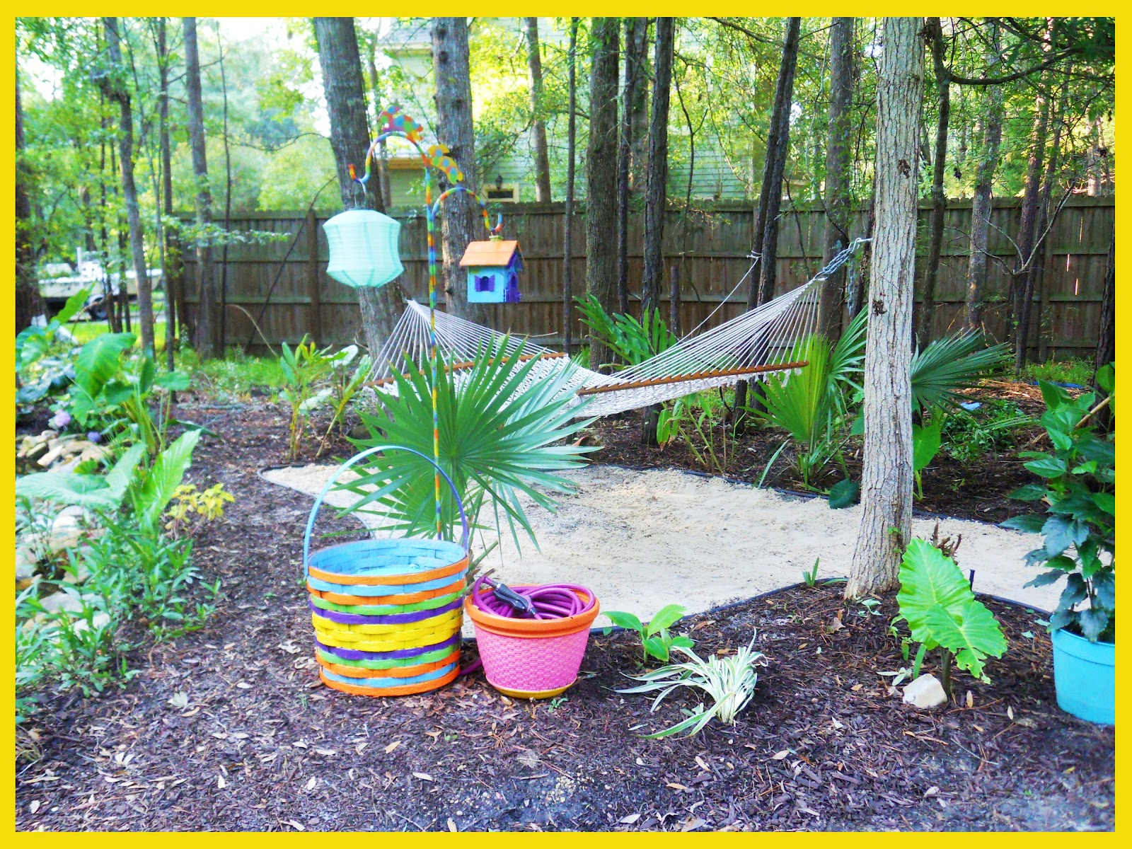 this is the third and final post about my big backyard makeover if