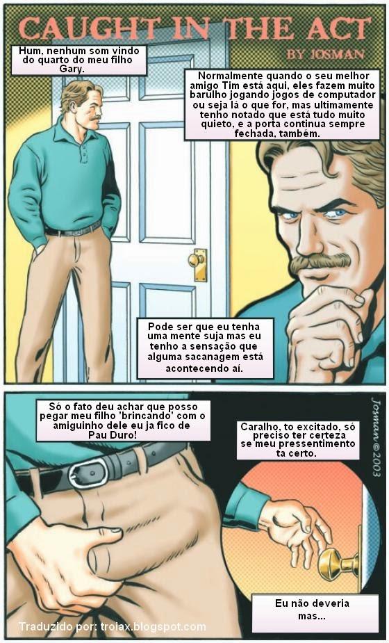 гей комикс сокамерники