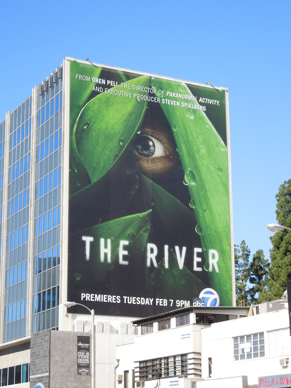 The River season 1 TV billboard