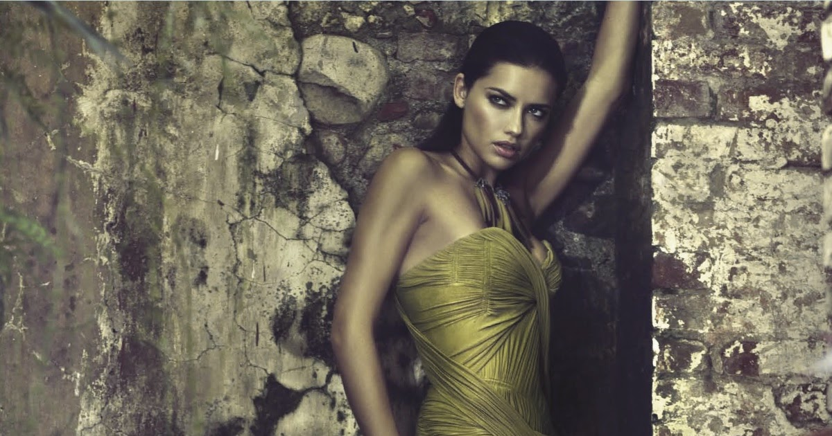 Smile: Ad Campaign: Donna Karan S/S 2012: Adriana Lima by ...