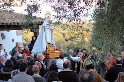 Romería Ntra. Sra. de la Fuente Santa 2012. Parrillas. Toledo.
