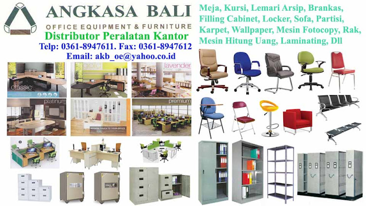 Angkasa Bali Distributor Alat Kantor Furniture Jual Meja Kursi Kantor