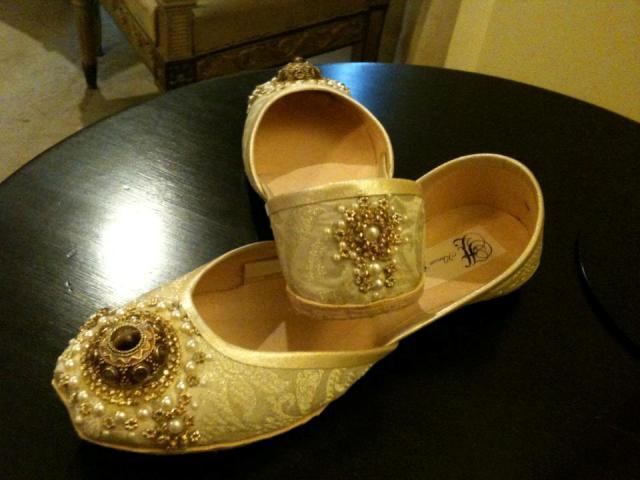 Bridal Khussa Shoes Designs 2013