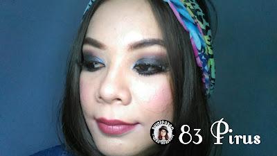 Lipstik Purbasari Pirus nomor 83
