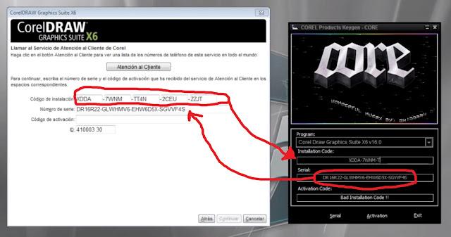 Keygen corel x6 32 bits Gratis