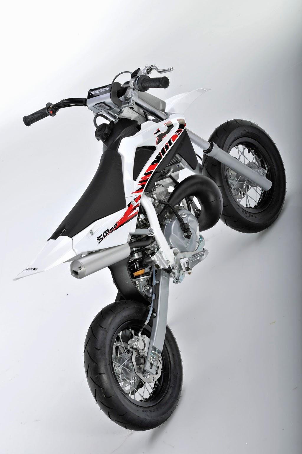 Husqvarna SM50 White Motorcycles HD Wallpapers