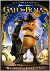 capa Filme Gato de Botas DVDRip XviD Dual Áudio + RMVB Dublado