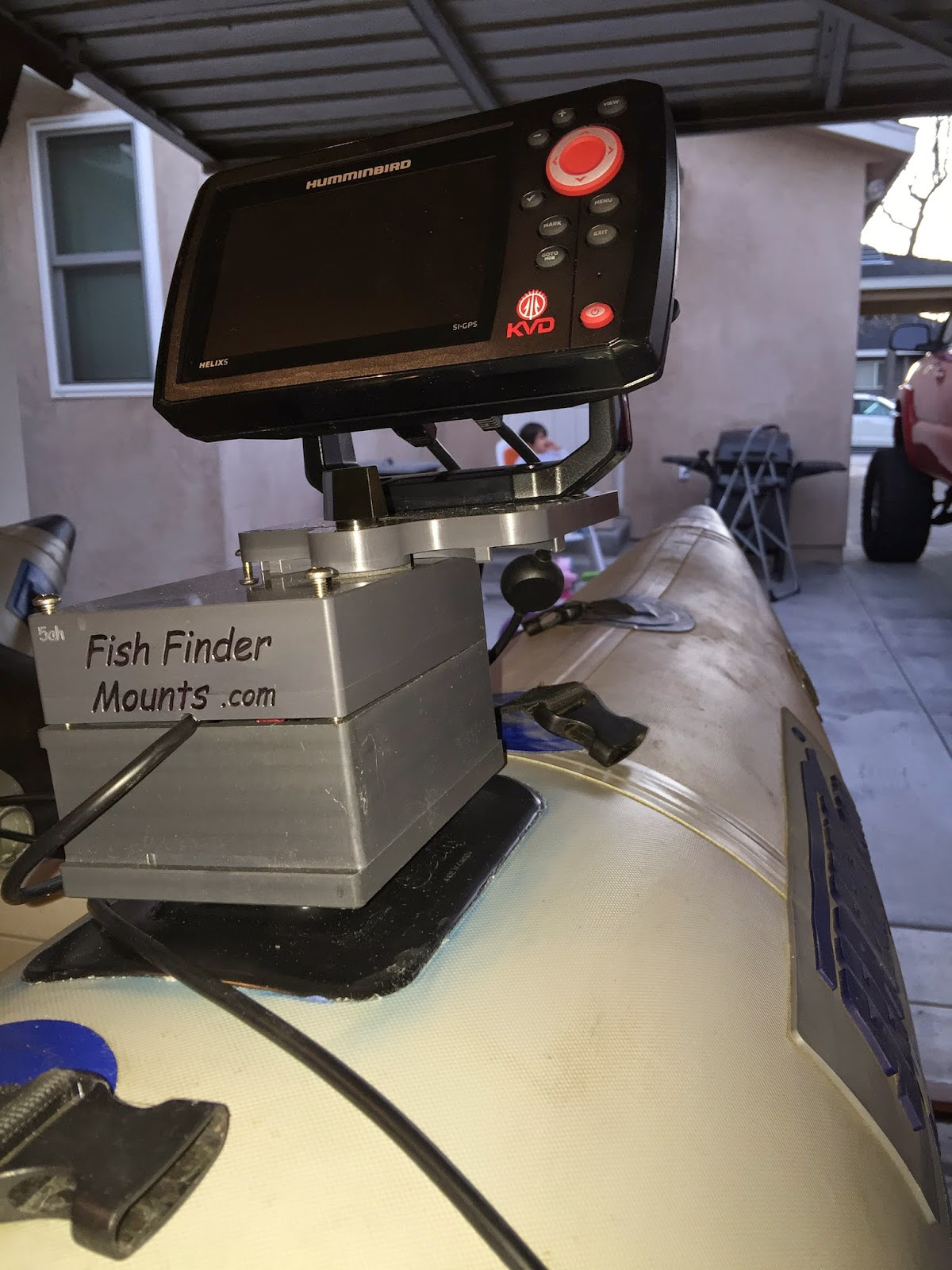 fish finder and transducer mounting solutions, Fish Finder