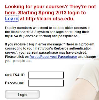 utsa.blackboard.com   UTSA Blackboard Login