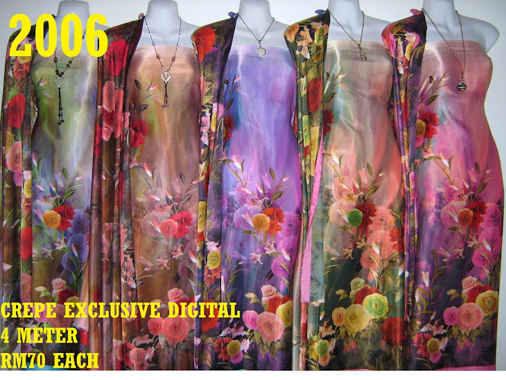 CP 2006: CREPE EXCLUSIVE DIGITAL PRINTED, 4 METER