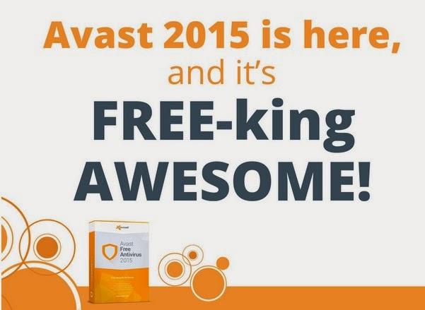 Avast Free Antivirus 2015 Gratis Terbaru
