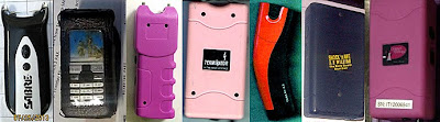 Stun Guns Discovered at (L-R) BTX, DEN, MEM, PHX, PHX, SFO, SMF