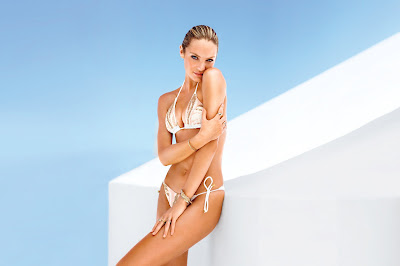 Candice Swanepoel Victoria's Secret bikini photoshoot