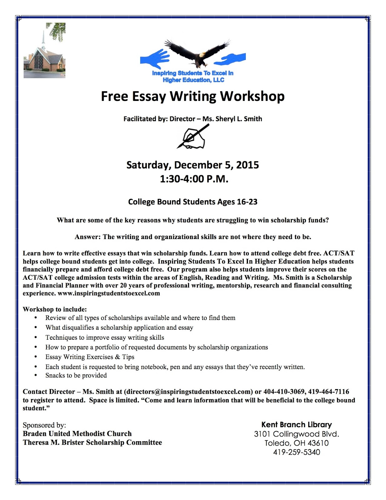 writing an essay for college scholarships