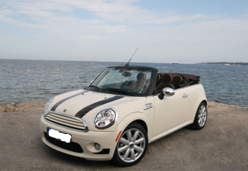 ebo luxury car rental mini cooper cabriolet. Black Bedroom Furniture Sets. Home Design Ideas