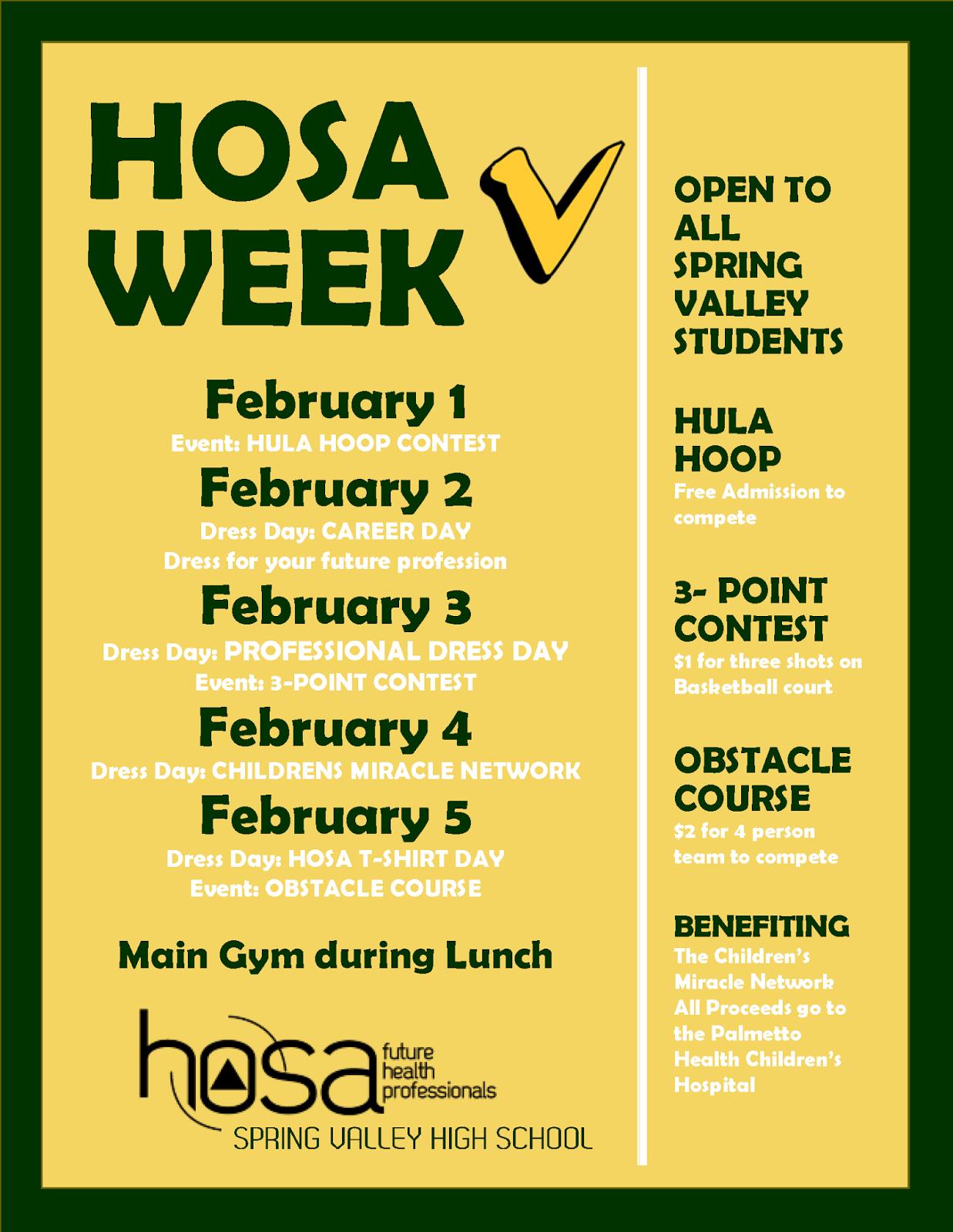 Viking Update: HOSA Week