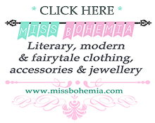 Miss Bohemia ~ Literary, Modern & Fairytale Clothing, Accessories & Jewelry