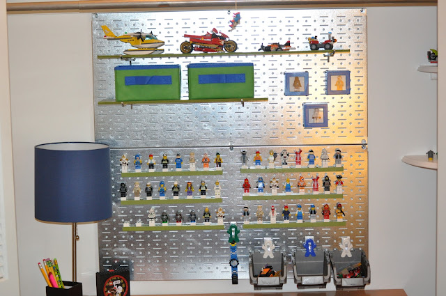 Mini Figure and Model Lego Organization