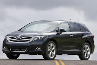 2015 New Toyota Venza Limited Edition front view