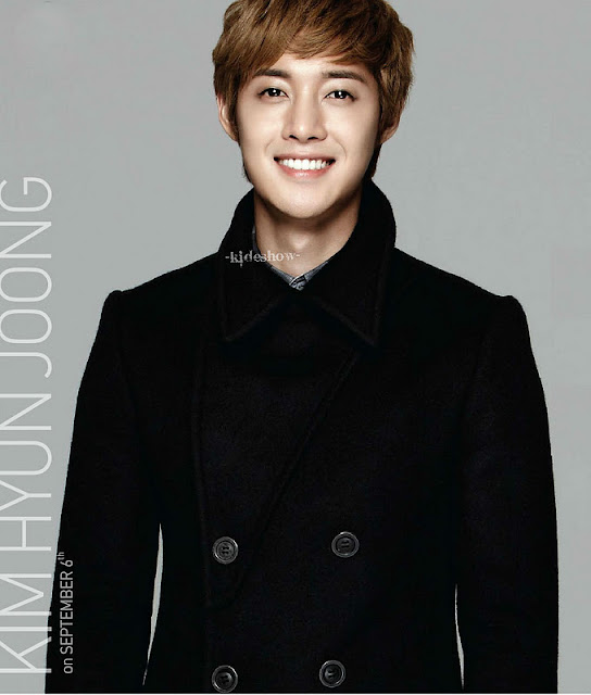 Scans) Kim Hyun Joong at Lotte Duty Free Magazine