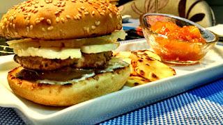 Hambúrguer de Porco