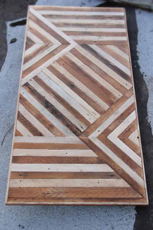 everything from coffee tables and dining tables to wood cutting boards