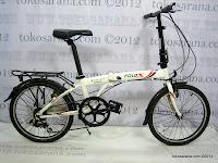 20 Inch Fold-X Hokaido 7005 Alumunium Alloy Frame Folding Bike