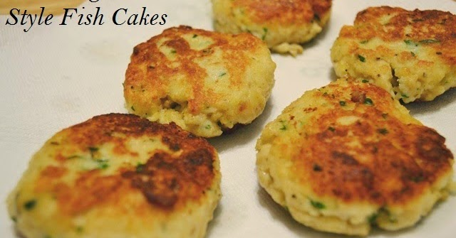 Join us, pull up a chair: New England Style Fish Cakes