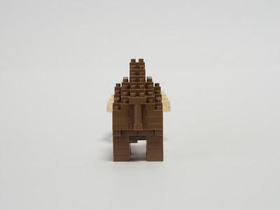 ナノブロックで作ったケナガマンモス