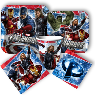 avengers party supplies FIESTA AVENGERS BIRTHDAY PARTY IDEAS