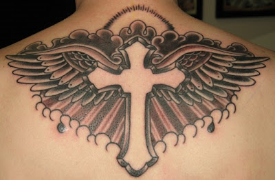 Celtic+cross+with+wings+tattoo+designs
