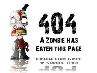 Un zombi se ha comido esta página, error 404