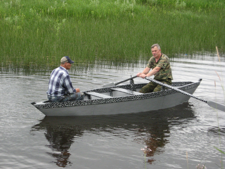 Самодельная лодка