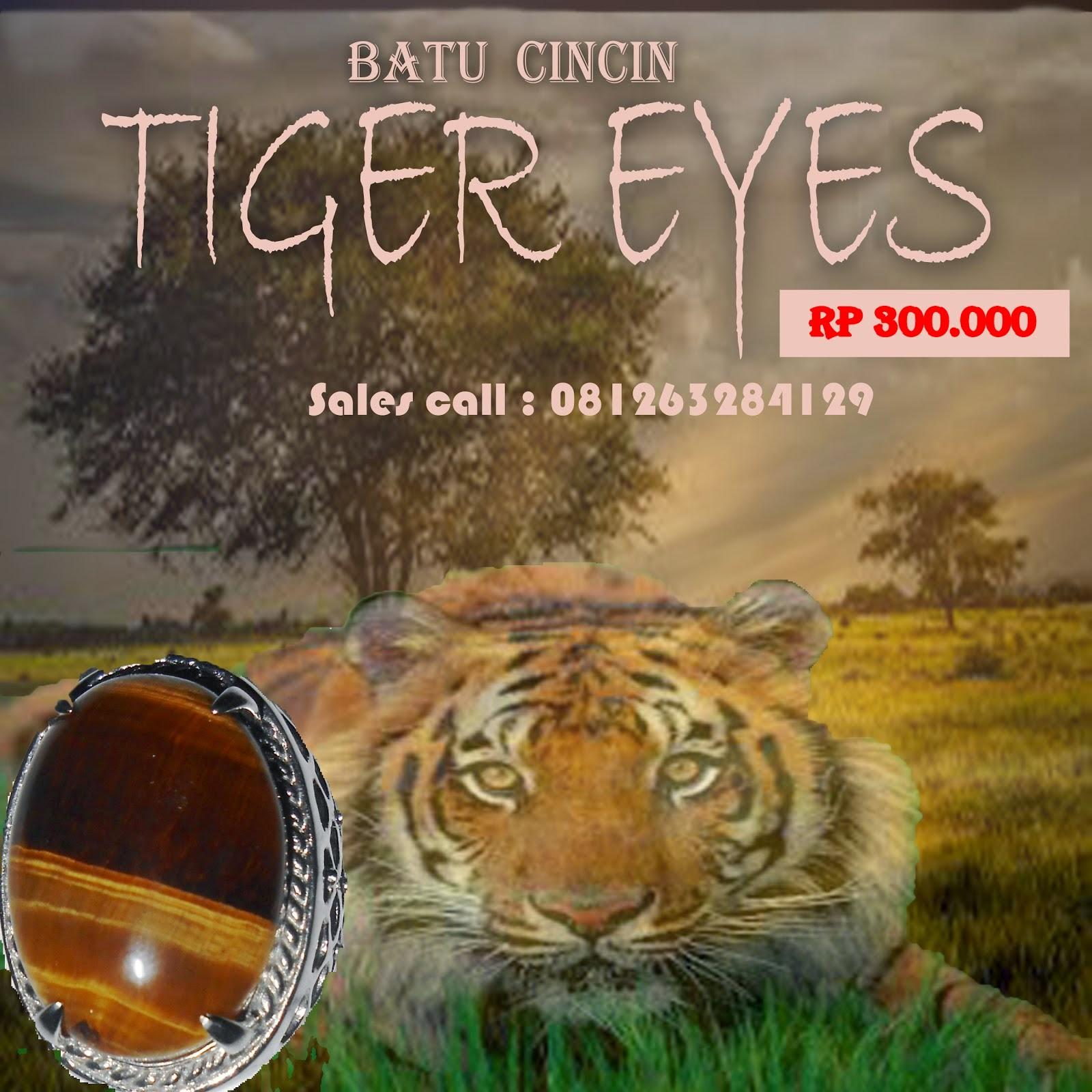 Batu giok tiger eyes