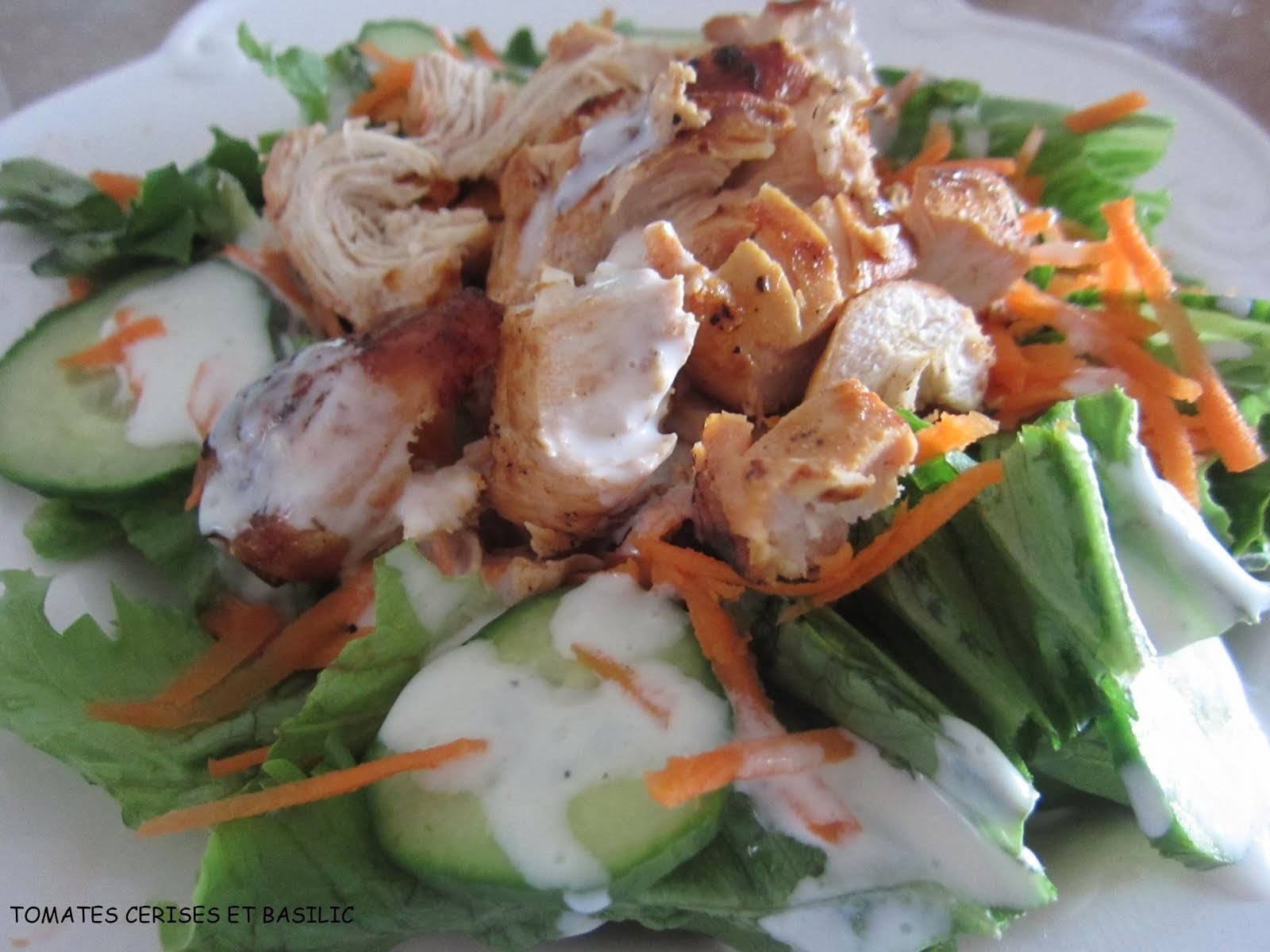Salades et vinaigrettes