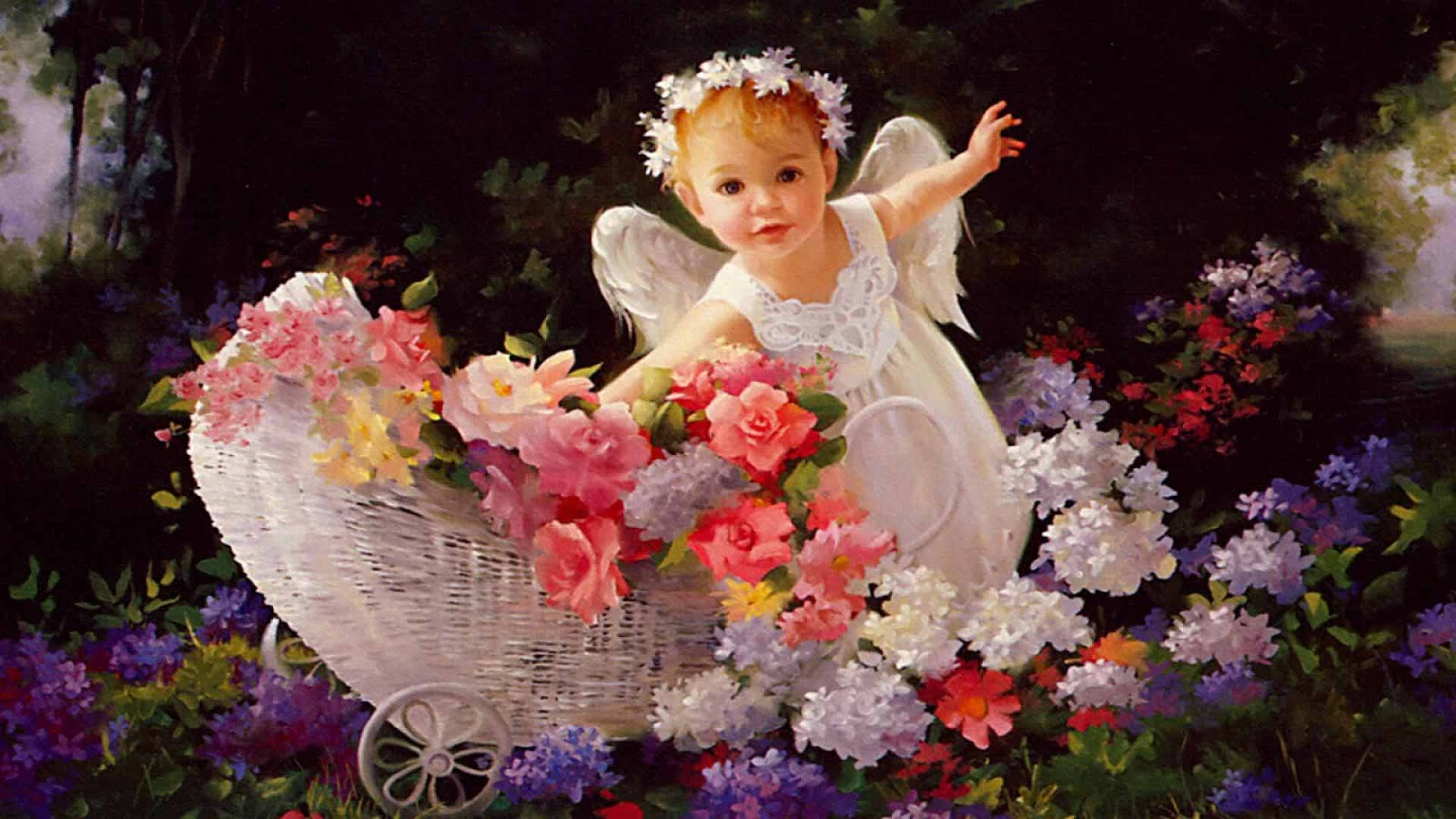 Hq wallpapers baby angel wallpapers - Angel baby pictures wallpapers ...