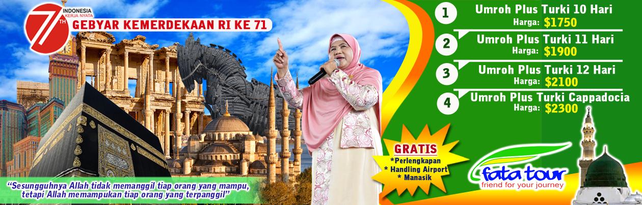 Specialis Umroh Plus Turki - Festival Tulip 2017