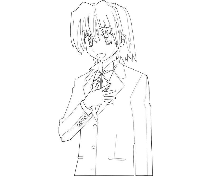 hayate-ayasaki-character-coloring-pages