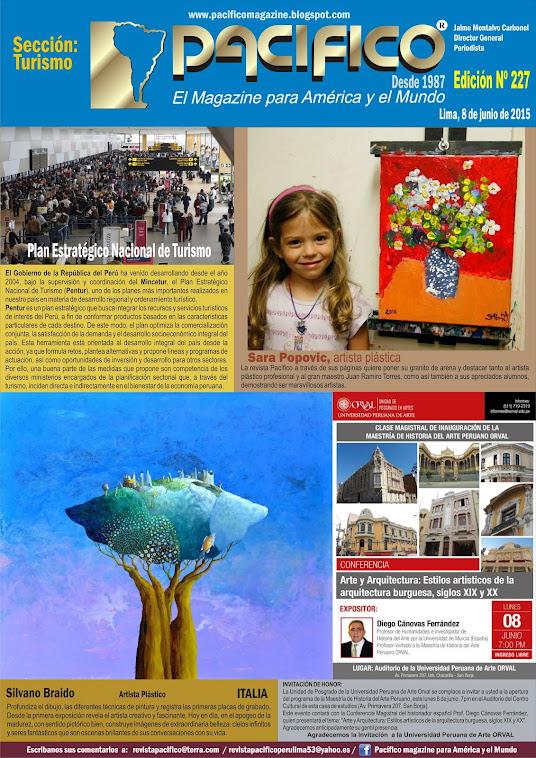 Revista Pacífico Nº 227 Turismo