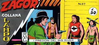 I predoni del Big River (n.8) Collana+Lampo+037