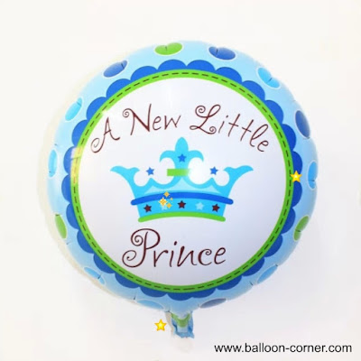 Balon Foil Bulat A New Little Prince