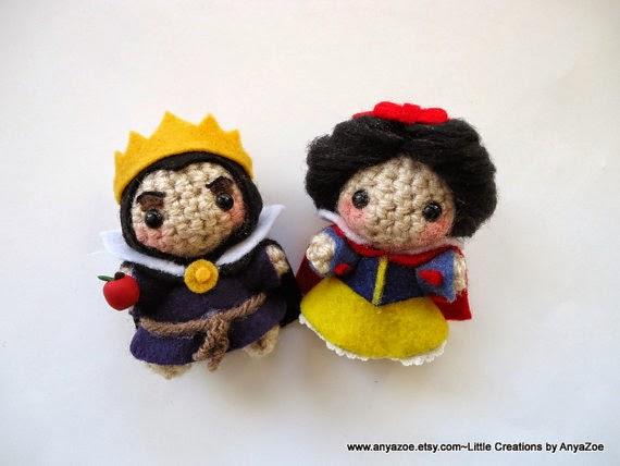 Amigurumi Walt Disney : Disney Sisters: Disney Amigurumi: 22 Tiny Adorable Dolls ...