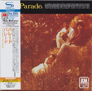 THE PARADE - THE PARADE (A&M 1968) Jap mastering cardboard sleeve