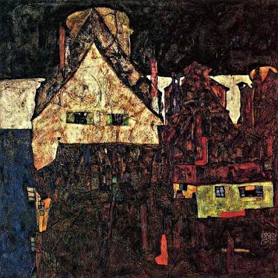 La petita ciutat (Egon Schiele)
